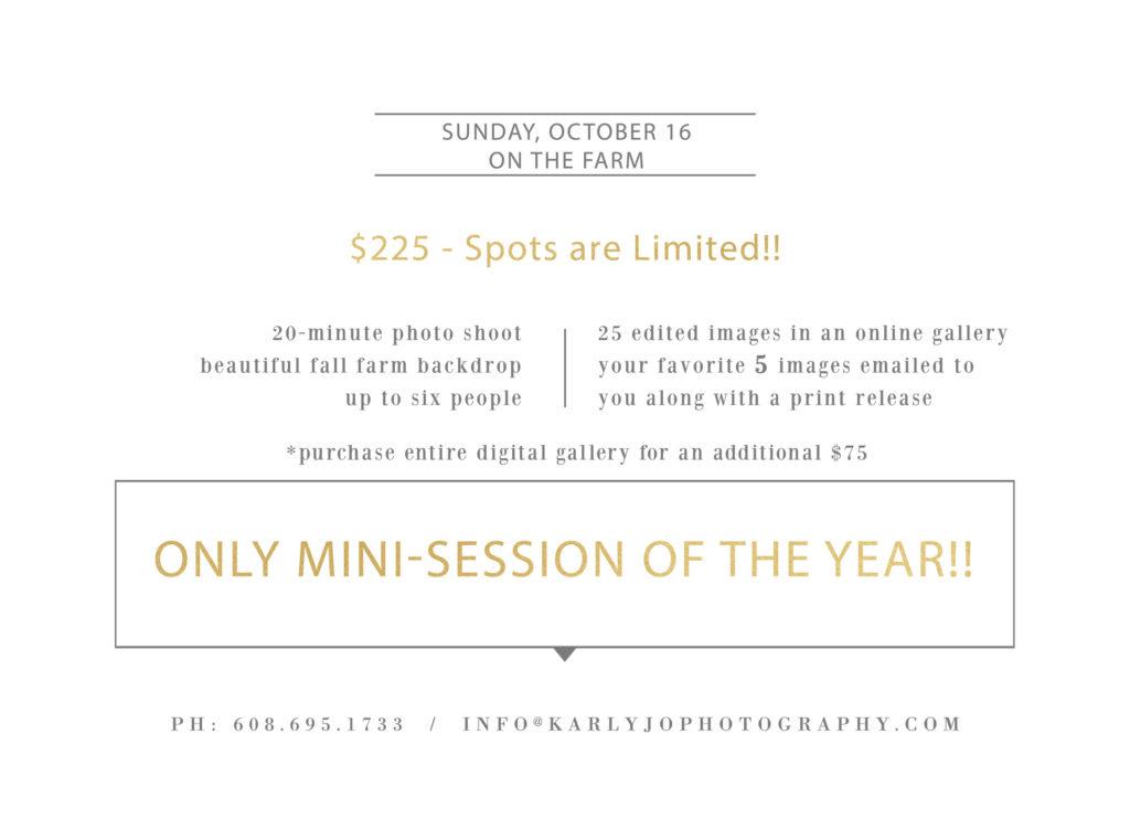 Madison Fall Mini-Session