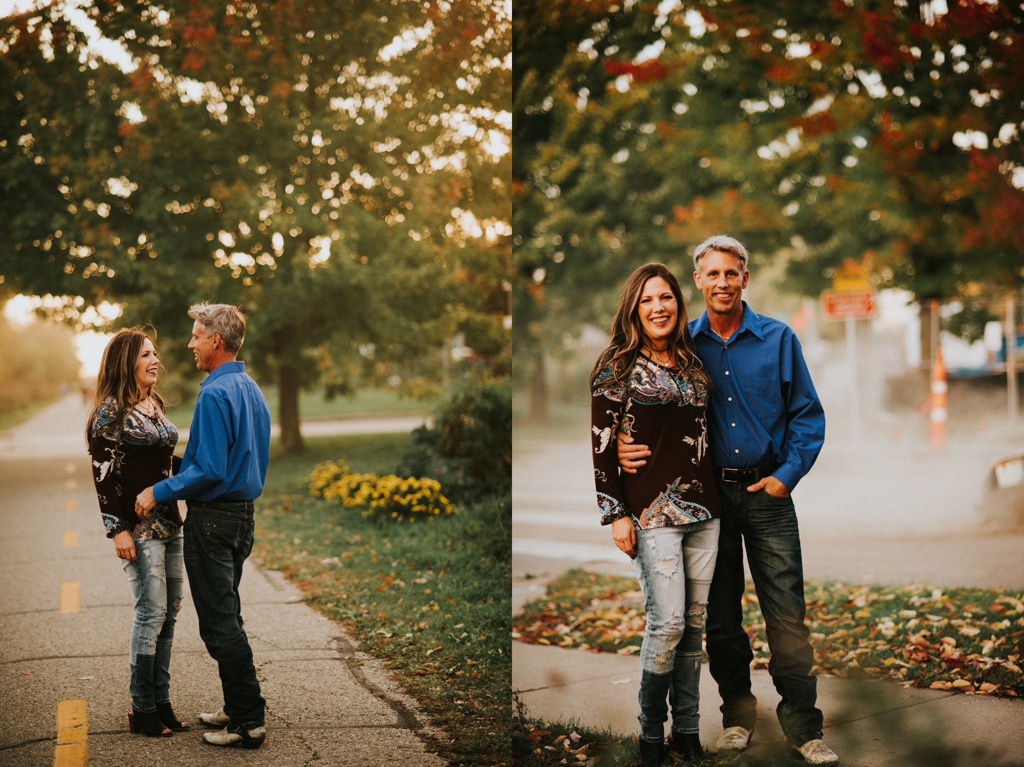 Fall Engagement Session Madison