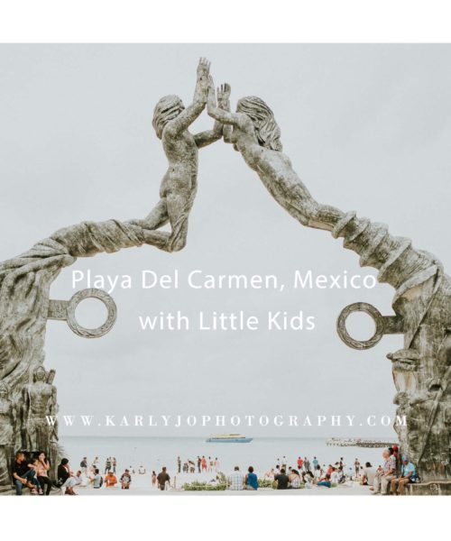Playa Del Carmen, Mexico with Little Kids
