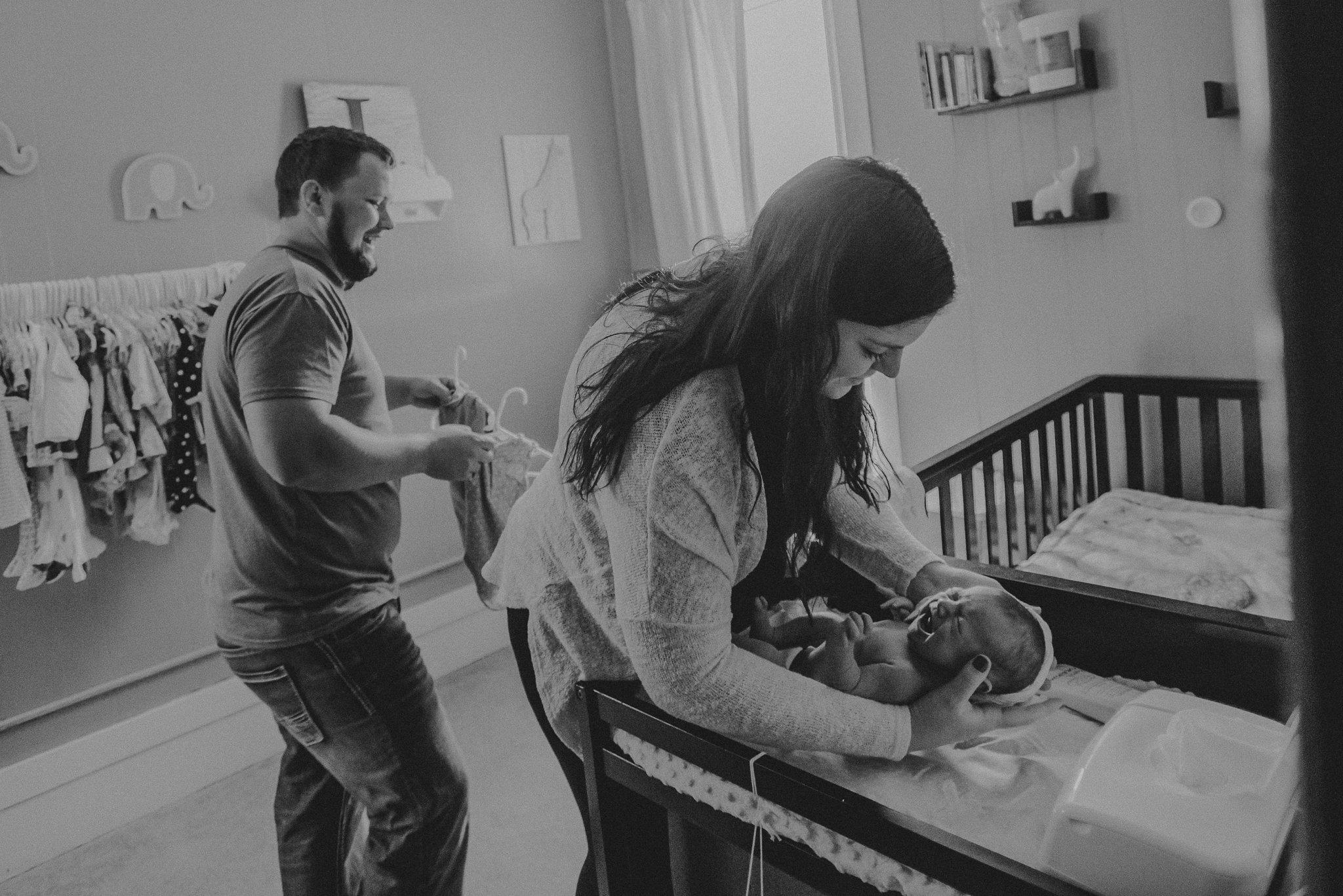 Newborn Photographer Evansville Wisconsin