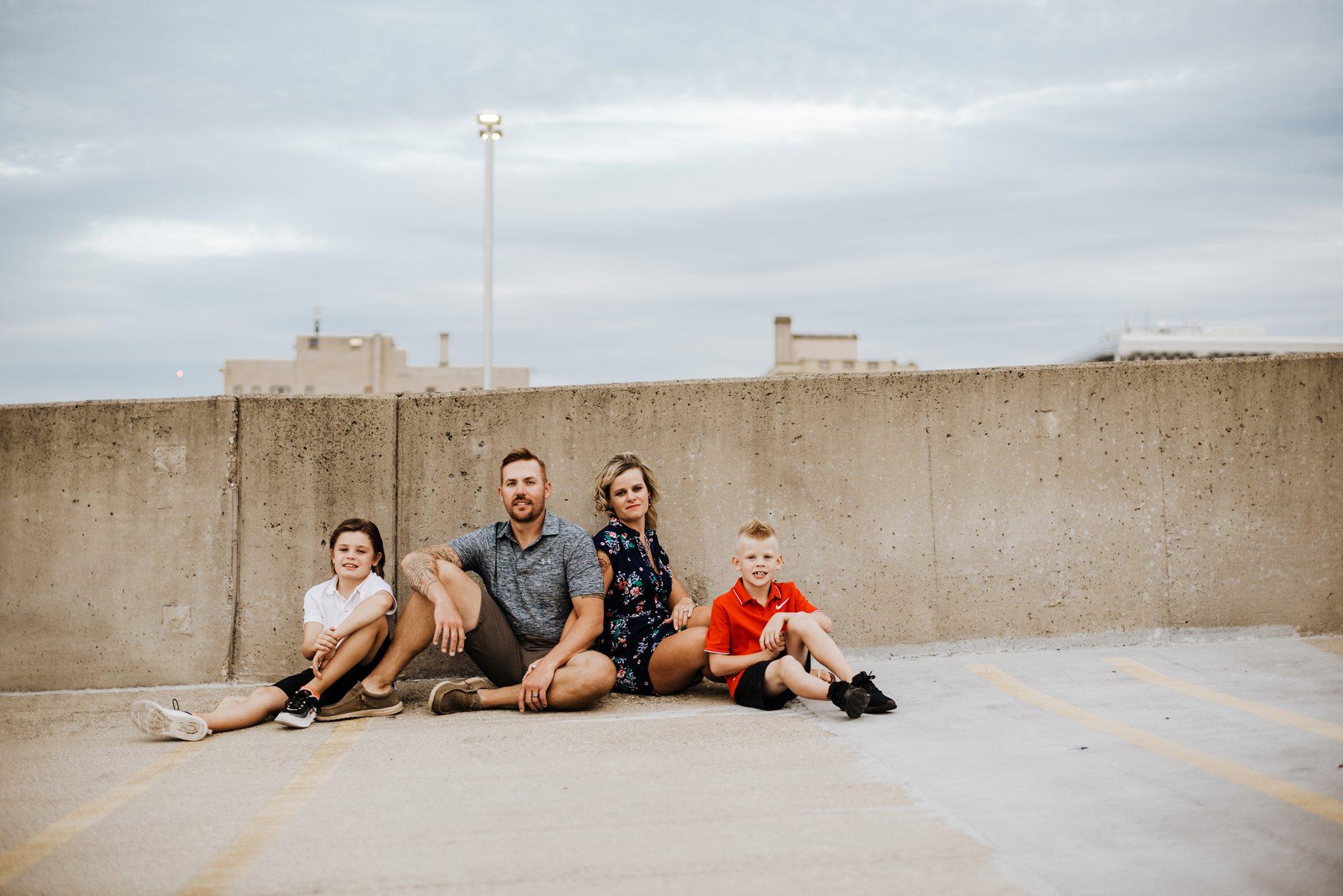 Parking Garage Family Photos
