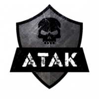 ATAK transparent no white border
