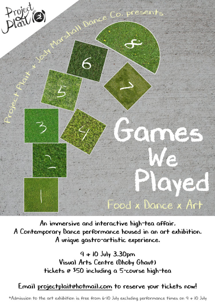 [Revised] Games We Played poster