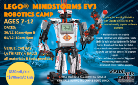 Robotics Holiday Course Camp Singapore