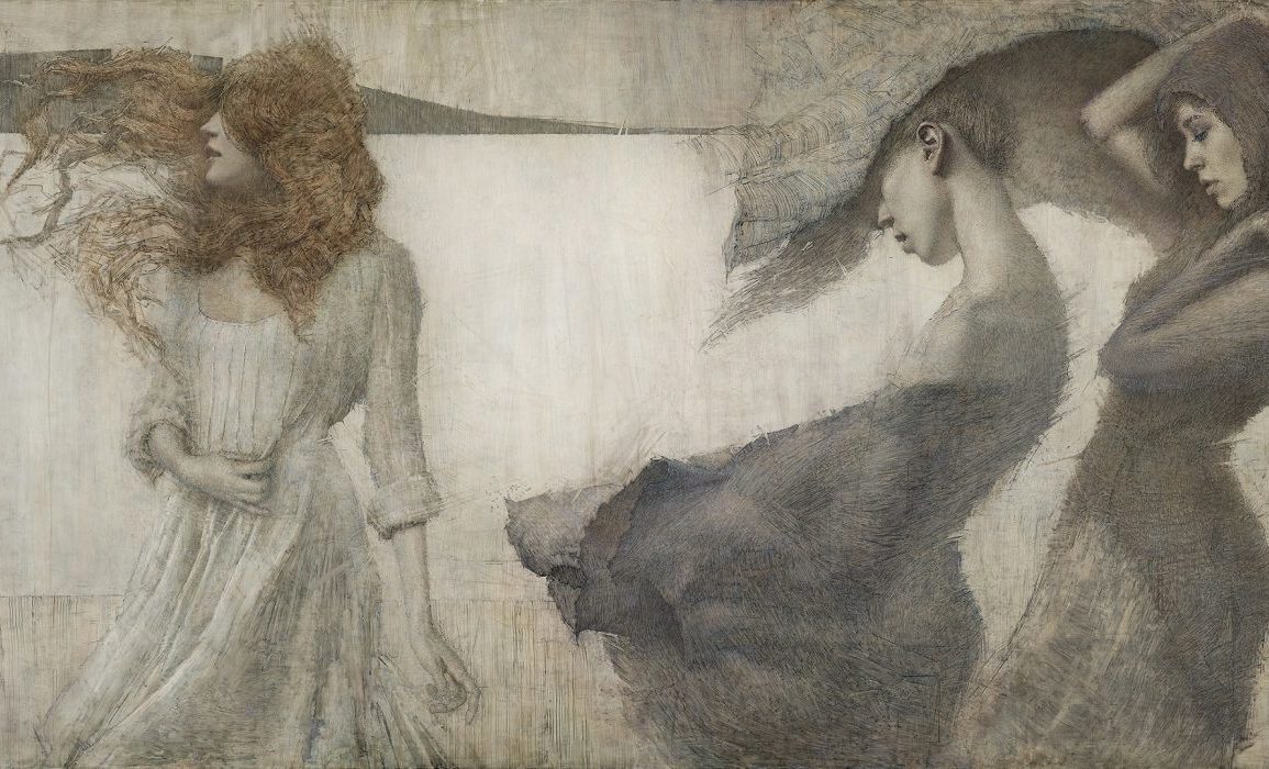 Daniel Bilmes painting - Beautiful Bizarre Art Prize