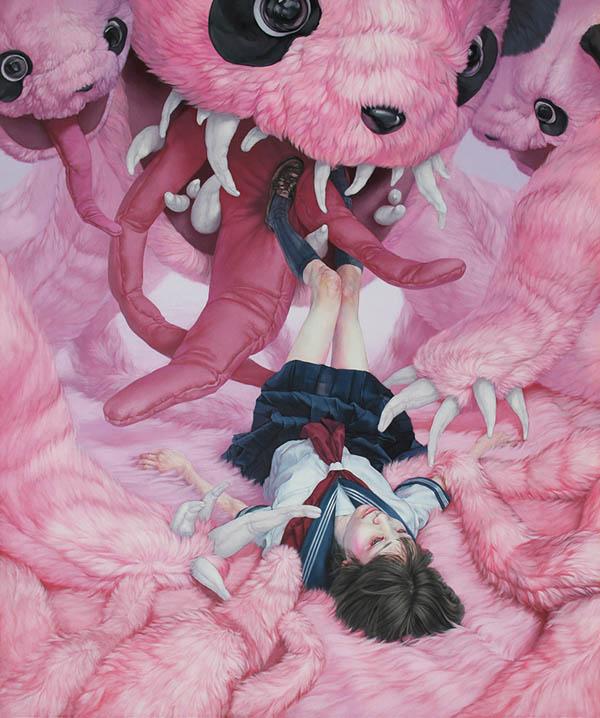 Kazuhiro Hori_Beautiful Bizarre 2018 Art Prize Finalist