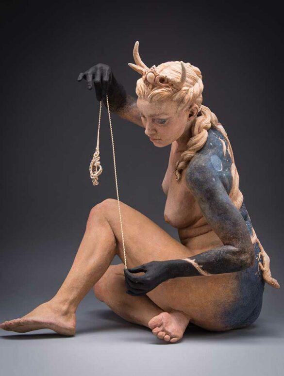 Kristine-Colin-Poole- figurative sculpture surreal art