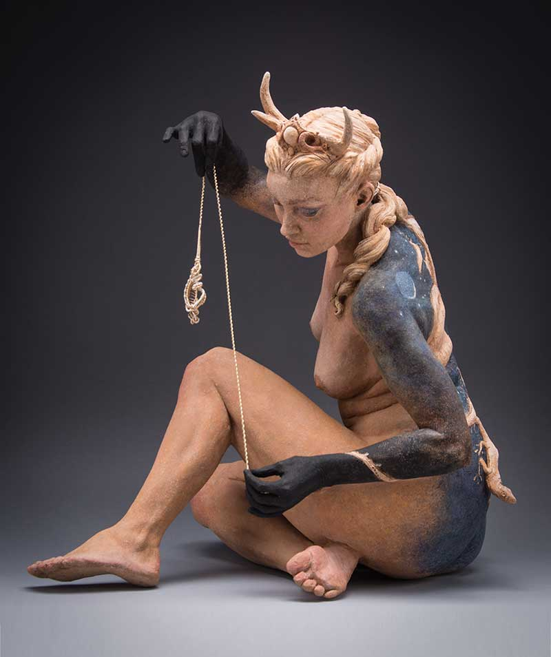 Kristine-Colin-Poole- figurative sculpture surreal art