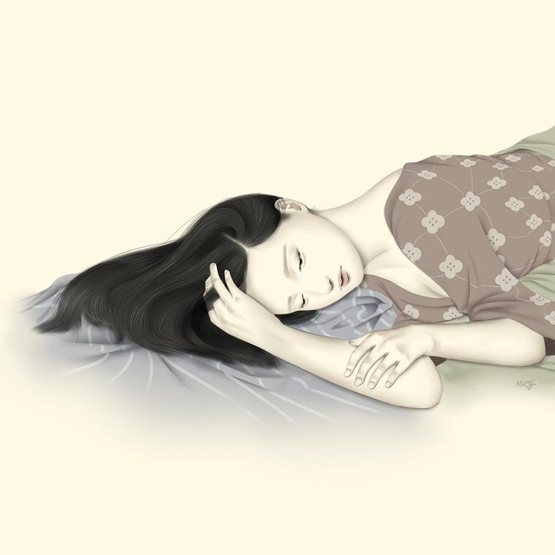 "Digital Painting by Kaiza Tizon-Sanceda. ""Sentiment"" [Digital Painting, Paint tool Sai and Adobe Photoshop]"