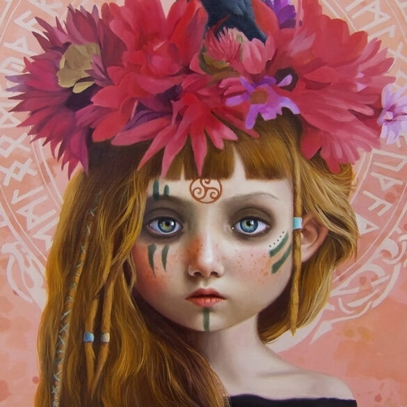 Olga Esther Beautiful bizarre magazine exhibition ritual