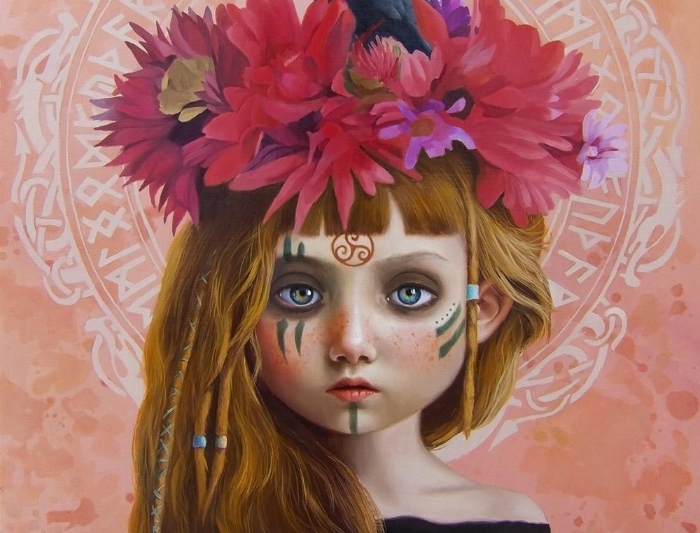 Olga Esther Beautiful bizarre magazine exhibition ritual