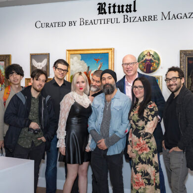 beautiful bizarre art prize 2019 exhibition at haven gallery