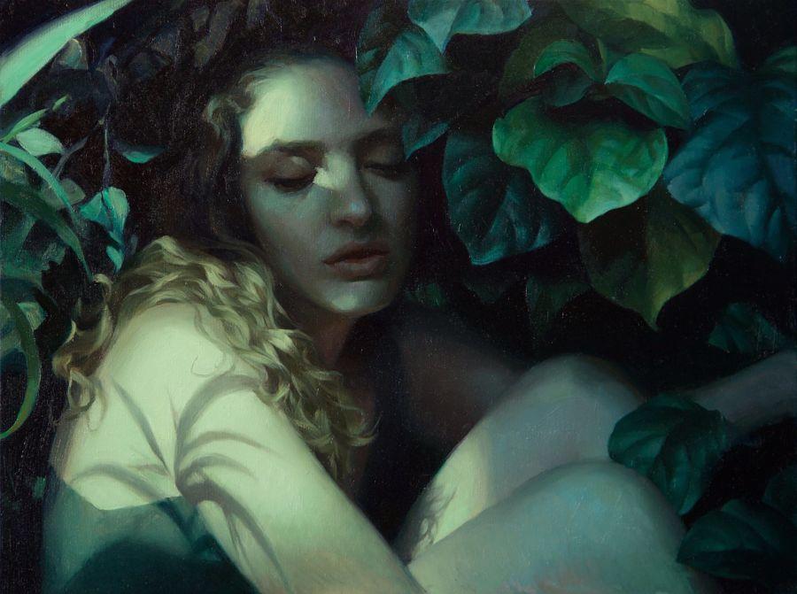 Adrienne Stein-nightshade-painting