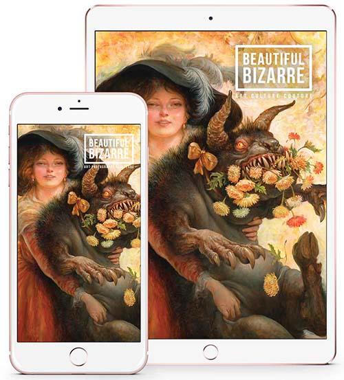 beautiful bizarre magazine - issue 29 - omar rayyan - art magazine - banner