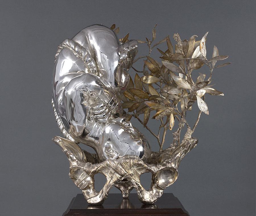 3631-Clare-Nicholson-metal-sculpture-feotus-900