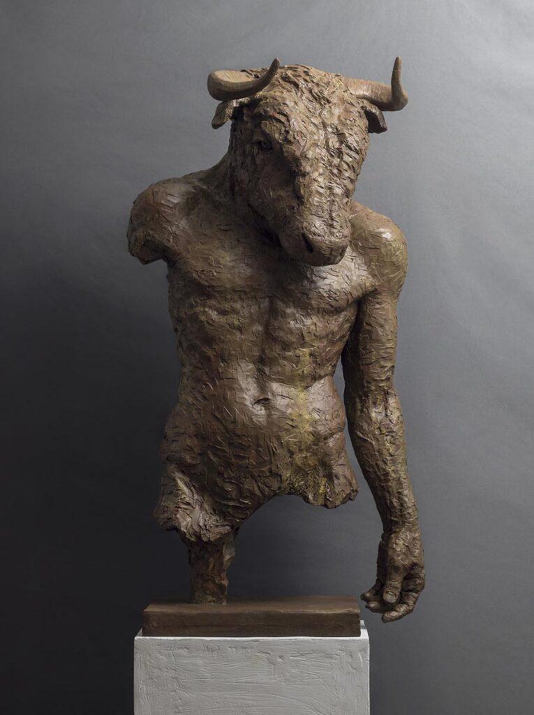 5333-Erik-Ebeling-sculpture-minotaur-cast-resin-900