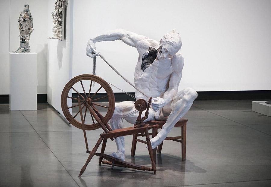 5362-Justin-M-Zielke-sculpture-resin-spinning-wheel-900