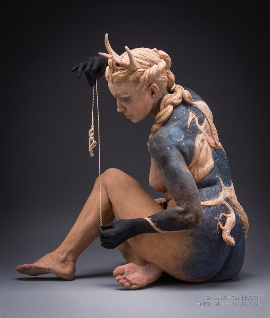 6153_Kristine and Colin Poole - ceramic figurative sculpture a