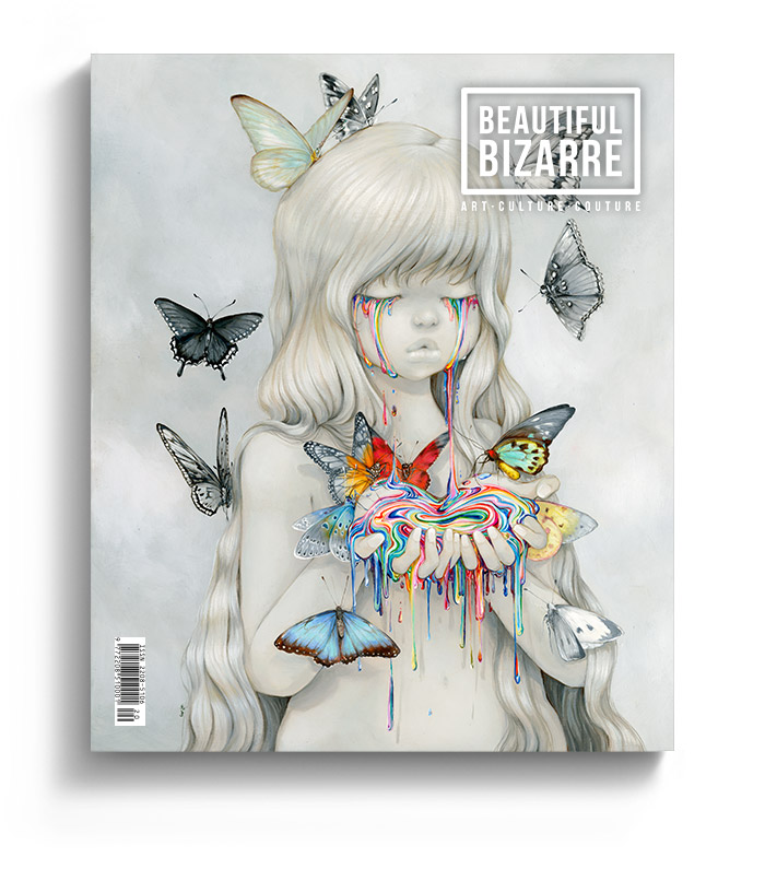 Beautiful Bizarre Magazine - issue 31 - with Camilla d'Errico pop surrealism painting