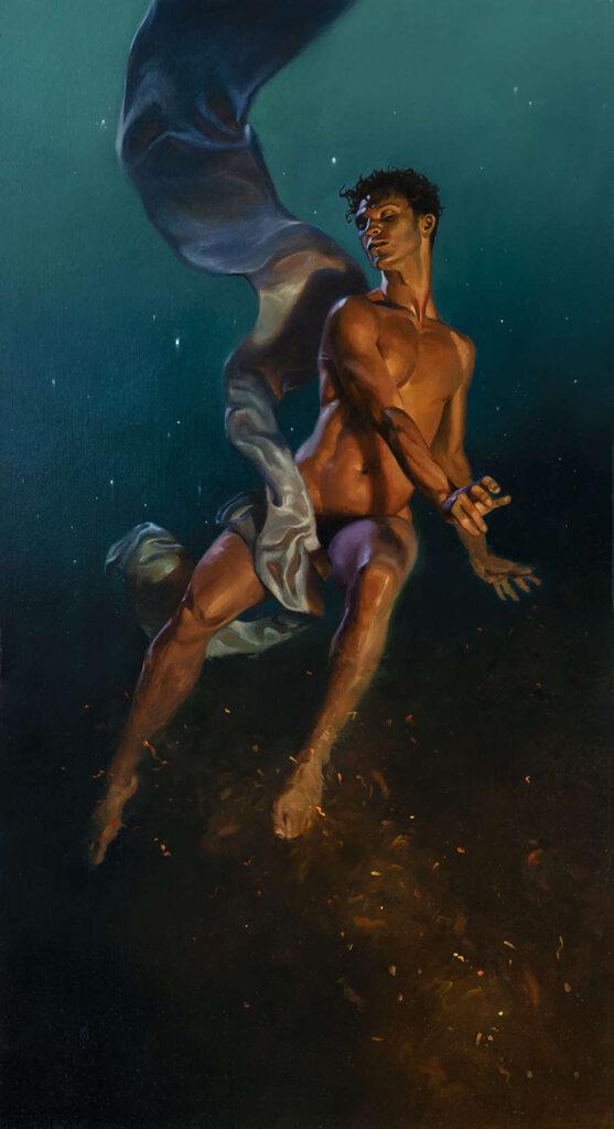Kai Carpenter floating man