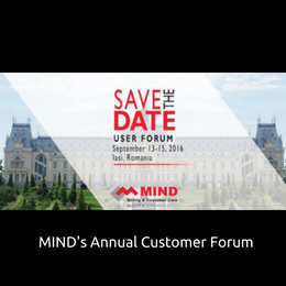 Event MIND's customer forum 2016