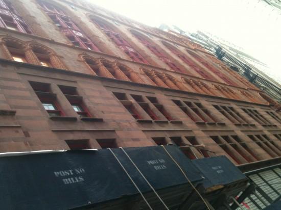 Corbin Building 5 Stone Installed