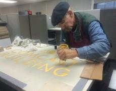 Gold Leaf Project for 30 Rockefeller Plaza