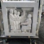 Ignatius Loyola carving