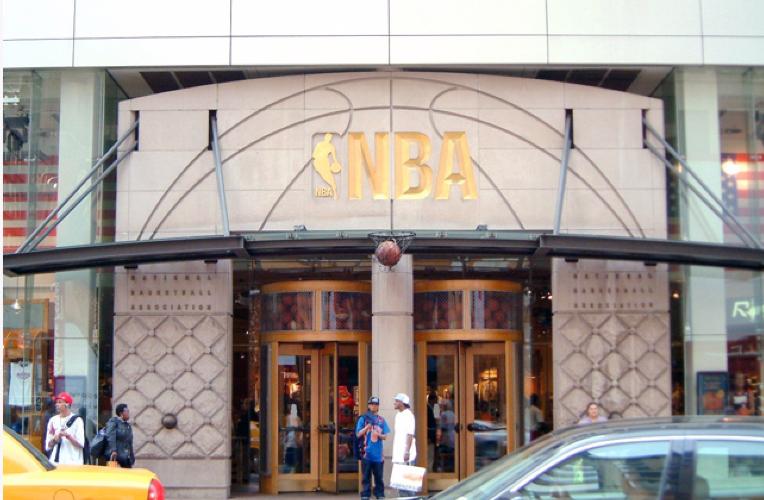 Petrillo stone NBA store project
