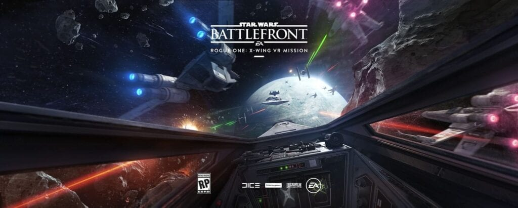 Battlefront Rogue One: X-Wing VR Mission
