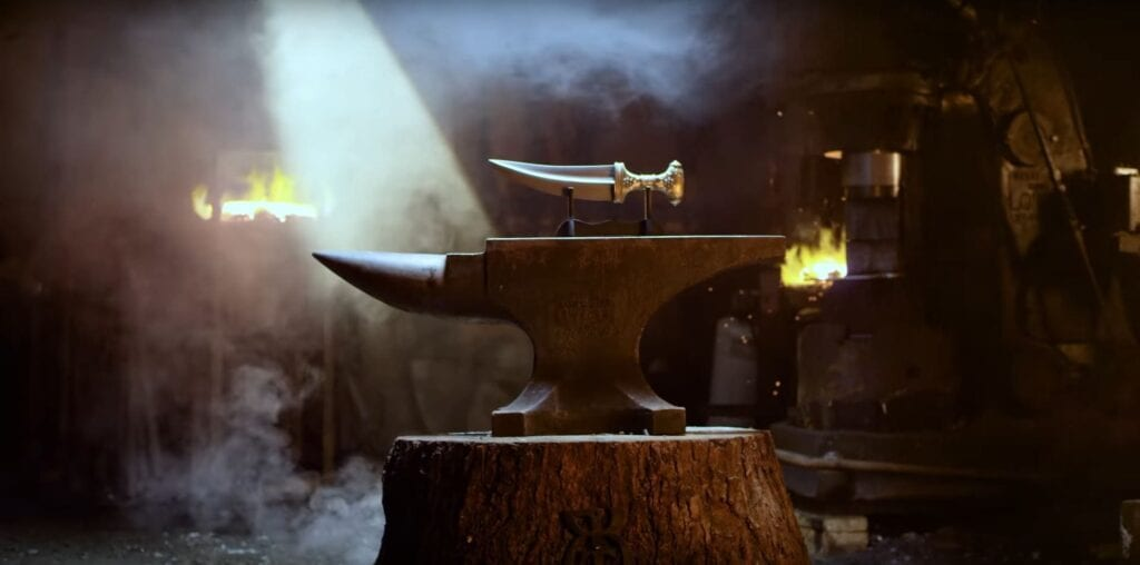 Battlefield 1 Jambiya Knife