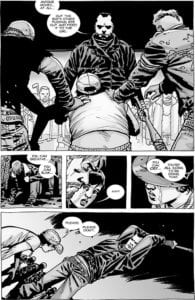 walking dead comic warning