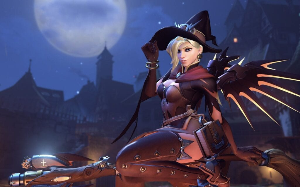 Overwatch Witch Mercy