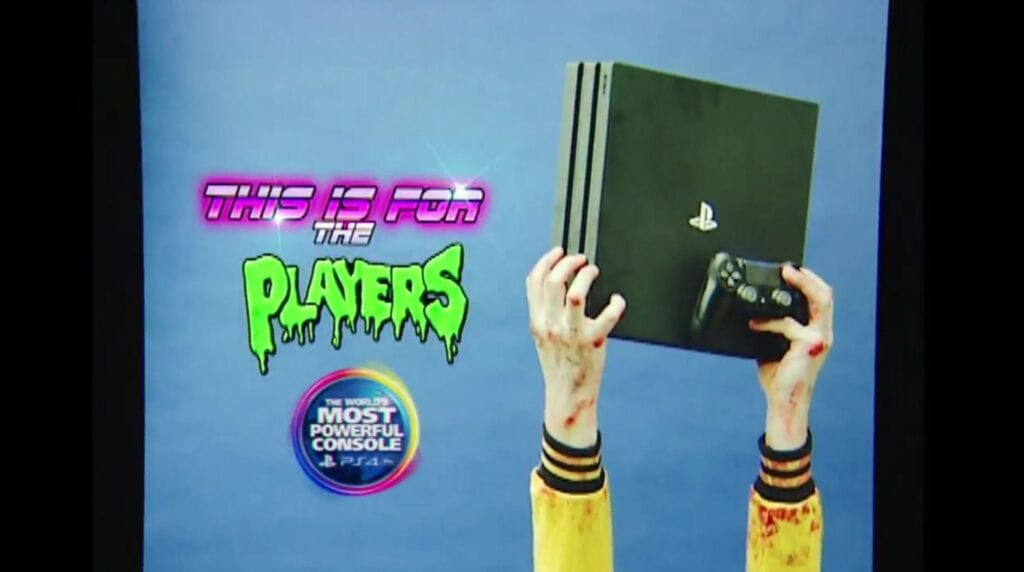 PS4 Pro - 80's Advertisement