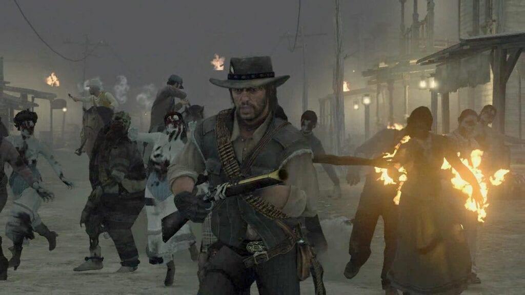 Red Dead Redemption Undead Nightmare blunderbuss