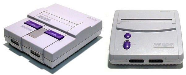 super nintendo mini comparison