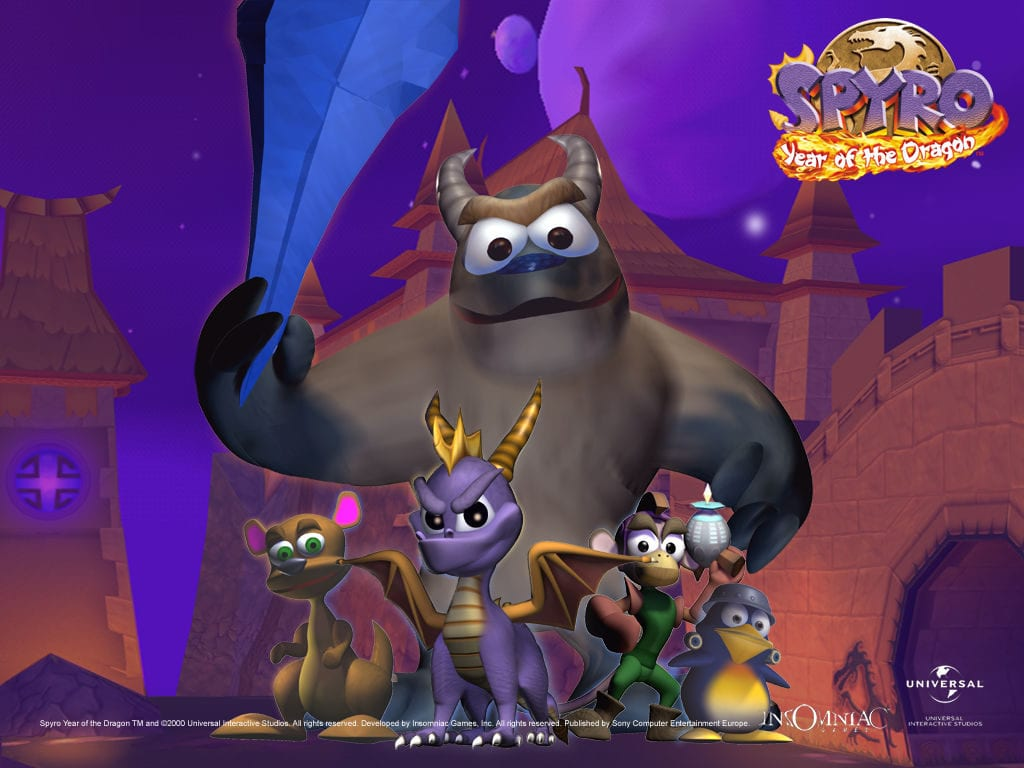 Spyro and the critters