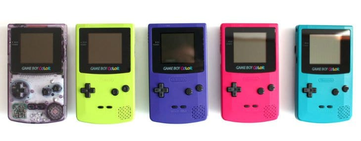 All Game Boy Color Color Variations