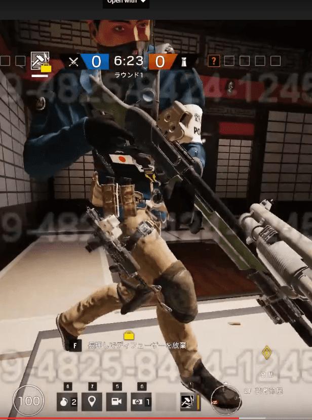 rainbow six siege japanese operator
