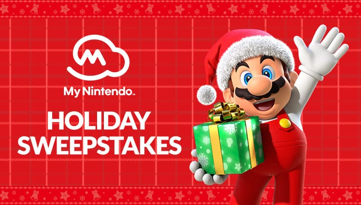 Nintendo Holiday Sweepstakes
