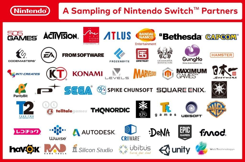 EA Nintendo Switch Partners