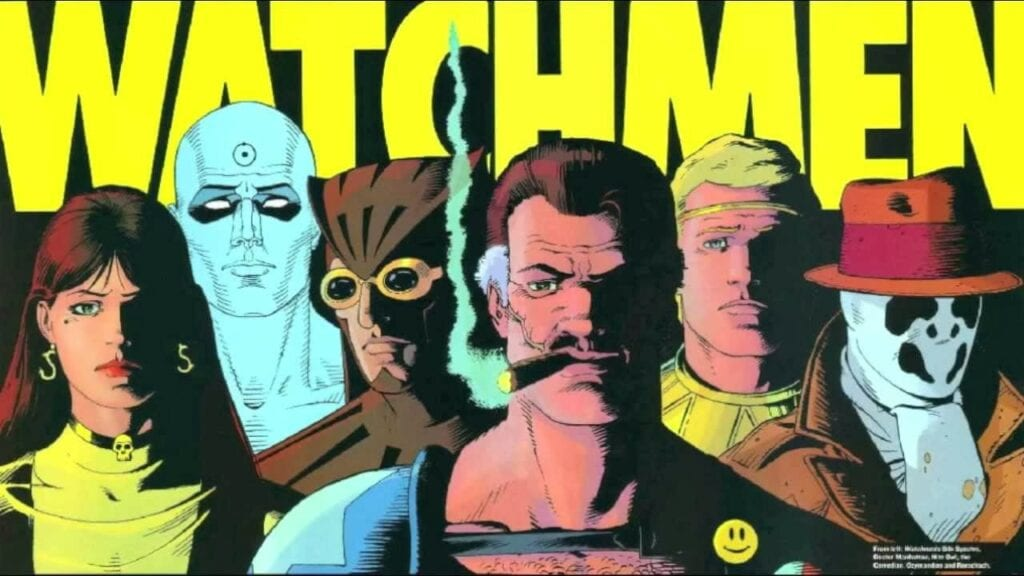 Injustice 2 Watchmen