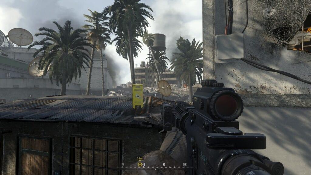 Modern Warfare Remastered Easter Egg