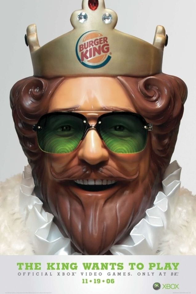 Burger King Xbox 360 Kinect promo