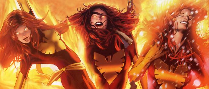Dark Phoenix X-Men comics