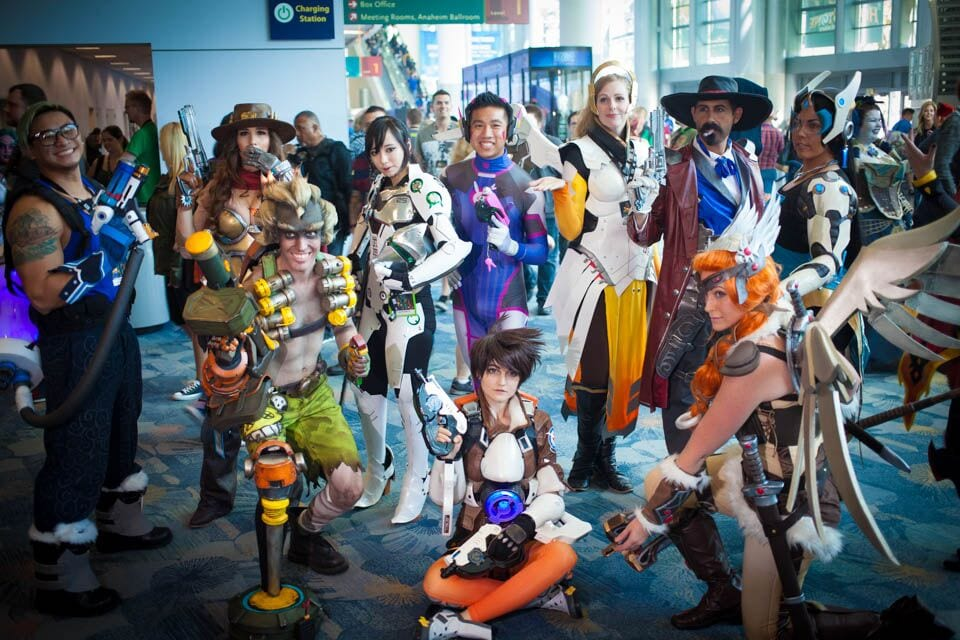 BlizzCon 2016 Cosplay Group
