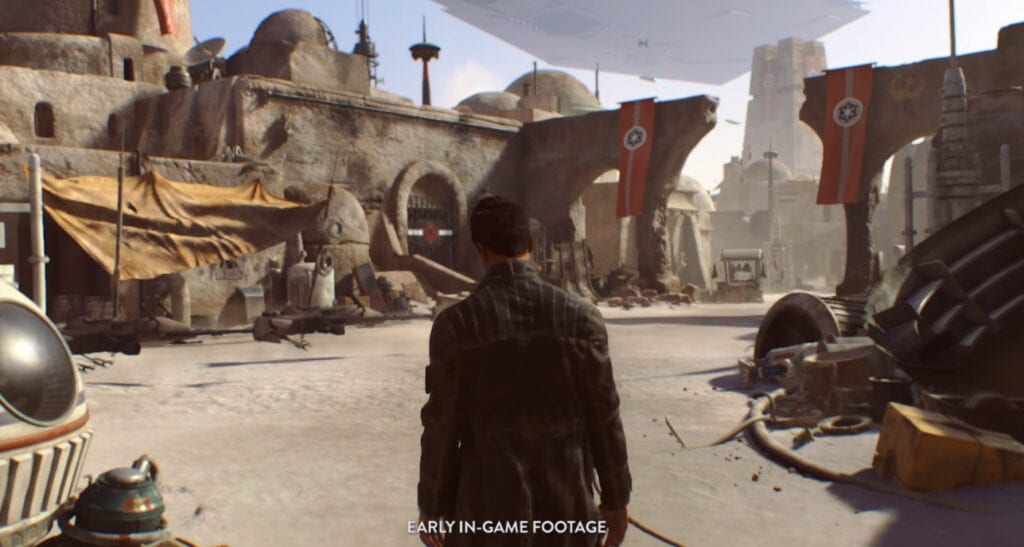 EA Open World Star Wars game