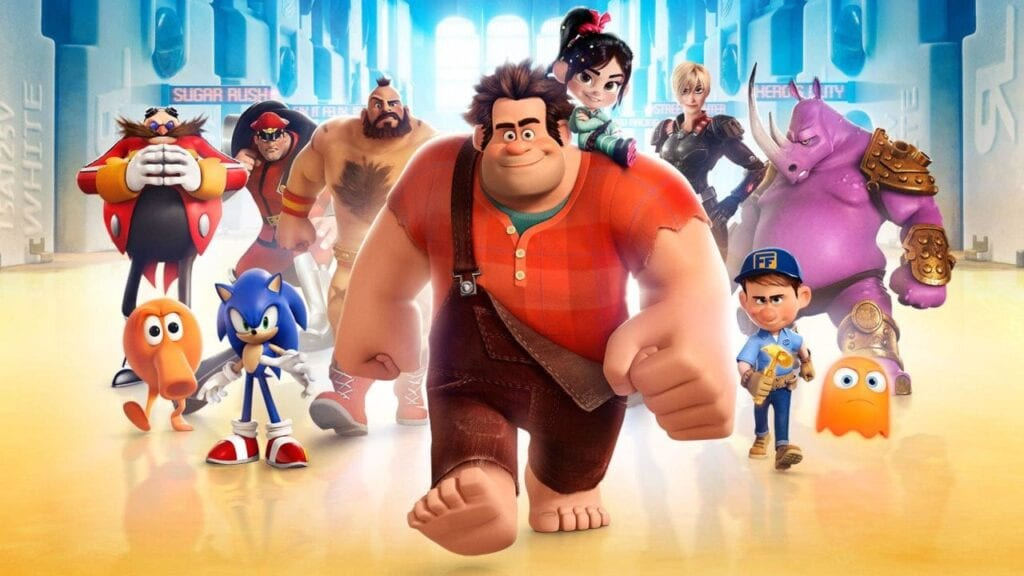 Wreck-It Ralph and his crew