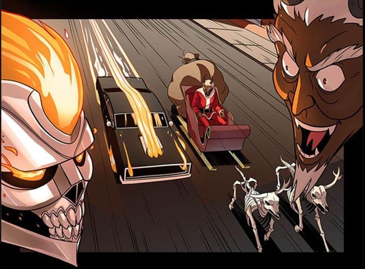 Ghost Rider Christmas