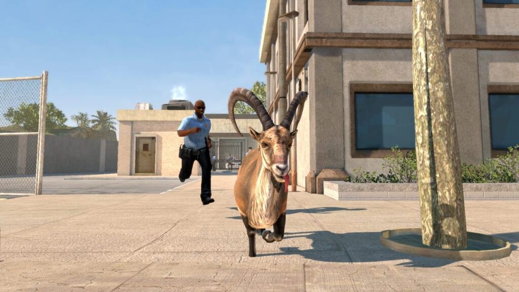 goat simulator payday prank